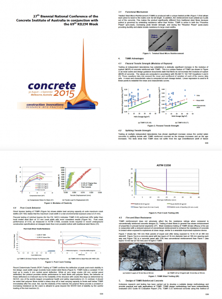 Twisted Steel Micro-Reinforcement: Proactive Micro-Composite Concrete Reinforcement