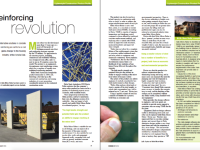 HIA Housing Magazine - Reinforcing Revolution (May 2016)