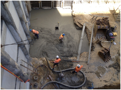 Core Raft Footing - Helio Apartments - North Melbourne VIC