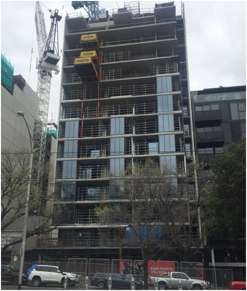 Nearing Completion - Helio Apartments - North Melbourne VIC
